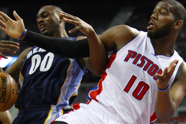 Pistons Roll over in First Game Back from Break