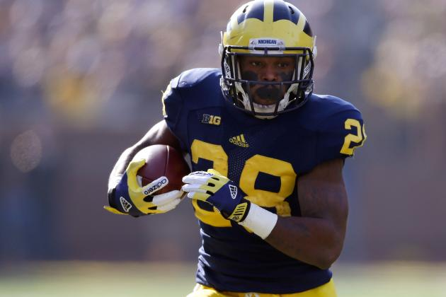Michigan Football: Wolverines Have Enough RBs to Shelve Toussaint for Season