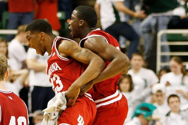 Hoosiers' Tough 'Shooting' Closes First Win at Breslin Center Since 1991