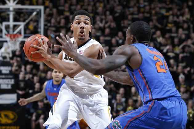 Missouri Upsets No. 5 Florida, 63-60