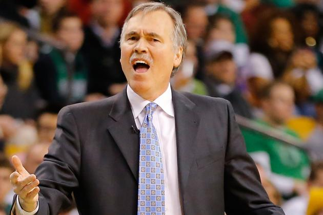 D'Antoni: Lakers Need at Least 45 Wins to Make the Playoffs