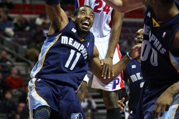 Memphis Grizzlies Grab Fourth Straight Win over Detroit, 105-91