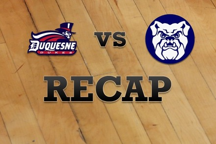 Duquesne vs. Butler: Recap, Stats, and Box Score