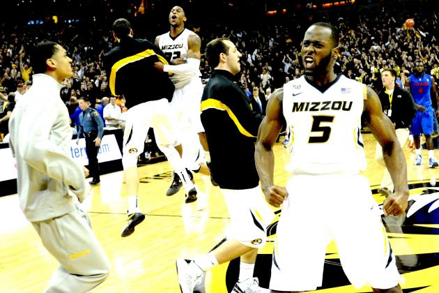 Missouri Solidifies NCAA Tourney Resume with Upset vs. No. 5 Florida, 63-60