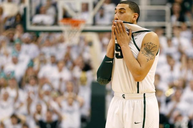 Mistakes Make Difference for Spartans in Loss to Hoosiers