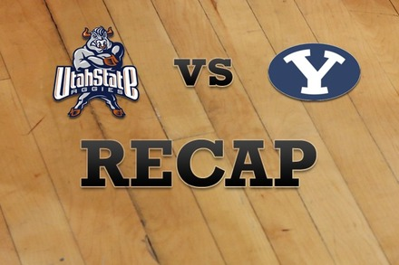 Utah State vs. Brigham Young: Recap, Stats, and Box Score