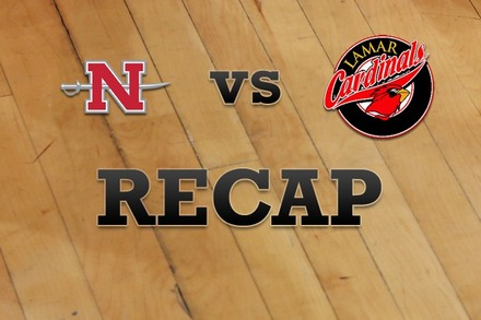 Nicholls State vs. Lamar: Recap, Stats, and Box Score