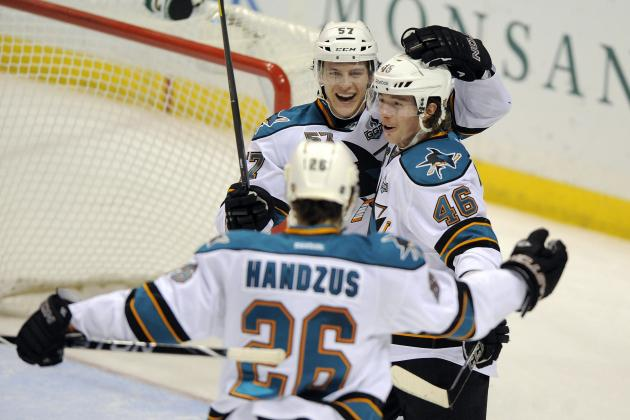 Tim Kennedy Providing Spark to San Jose Sharks' Struggling Offense
