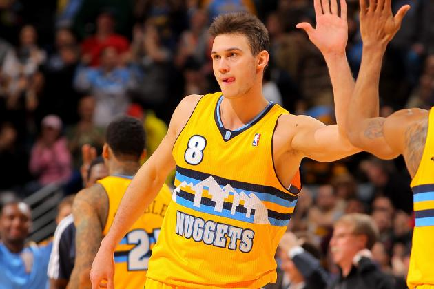 Danilo Gallinari Scores 26 Points to Lead Nuggets Past Celtics, 97-90
