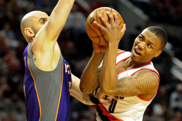 Blazers Fall to Suns, 102-98, for Sixth Loss in a Row