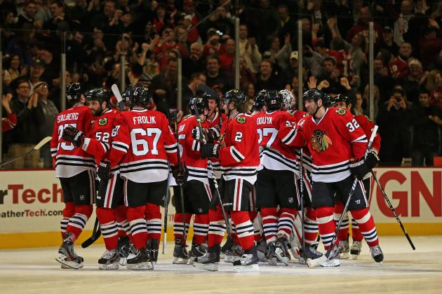 Marian Hossa Injured as Blackhawks Match All-Time NHL Record