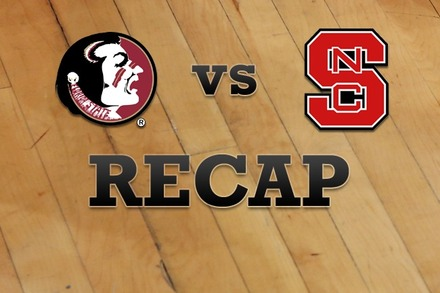 Florida State vs. NC State: Recap, Stats, and Box Score