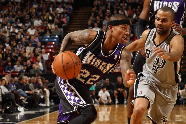 Parker, Spurs Stay on Top with Win over Kings