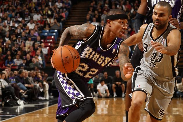 Kings Come Up Short Against Spurs