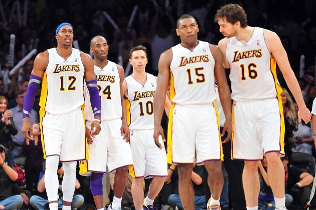 Los Angeles Lakers' Most Productive and Unproductive Five-Man Lineups