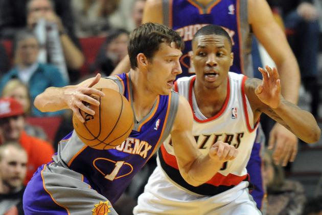 Dragic, Suns Down Blazers