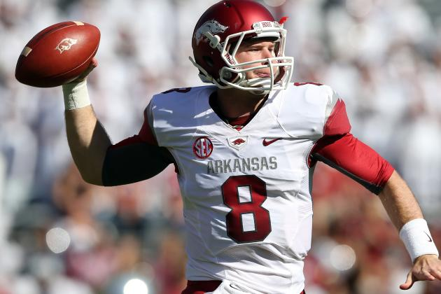 Former Arkansas QB Tyler Wilson Trying to Work into Draft's First Round