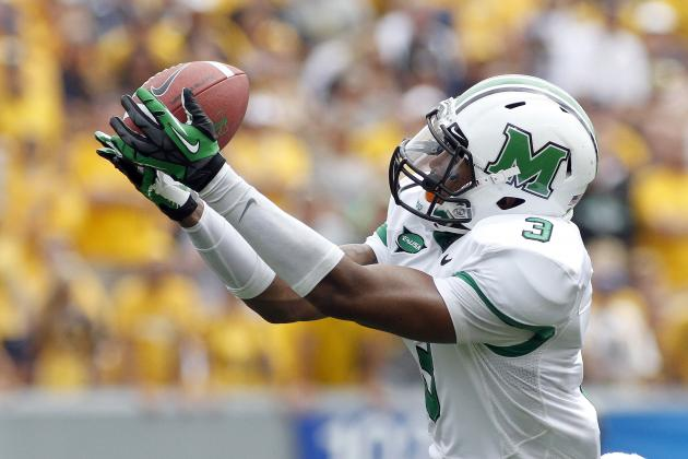 2013 NFL Draft: How Marshall's Aaron Dobson Has Gone from Overlooked to NFL