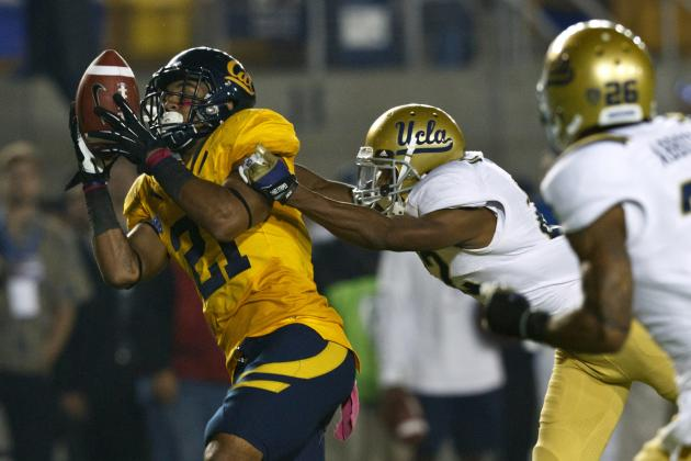 Cal WR Keenan Allen Won't Work Out at 2013 NFL Combine