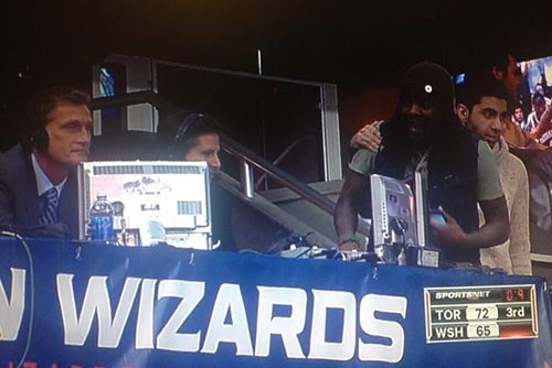 Wale Gets Mad at Raptors Broadcaster for Drake Comment