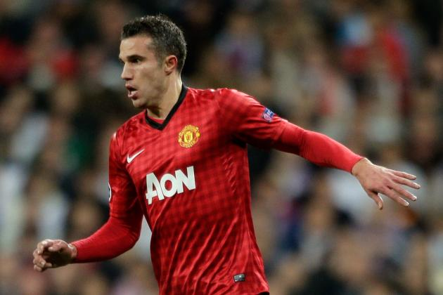 Breaking Down Robin van Persie's Manchester United Stats This Season