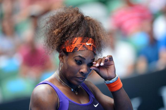 Serena Withdraws from Dubai with Back Injury