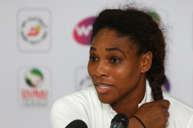 Serena Williams Withdraws from Dubai Championships Due to Back Injury