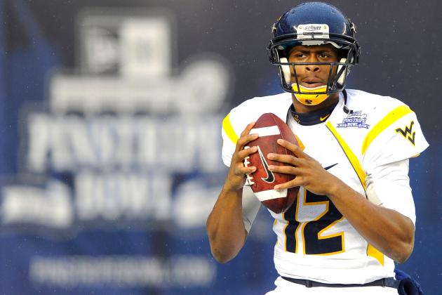 The Rise and Fall of Geno Smith as the Top QB Prospect in the 2013 NFL Draft