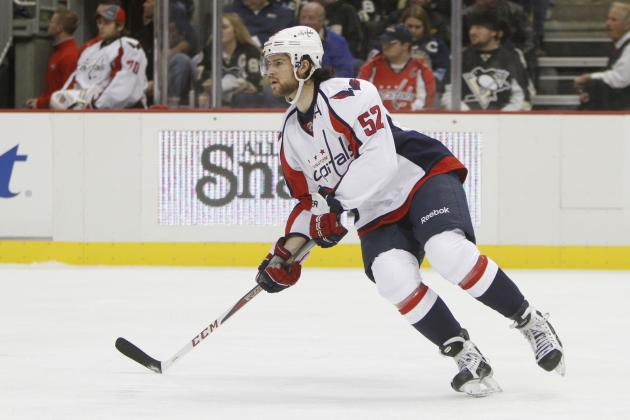 Mike Green Skates Briefly During Capitals Practice