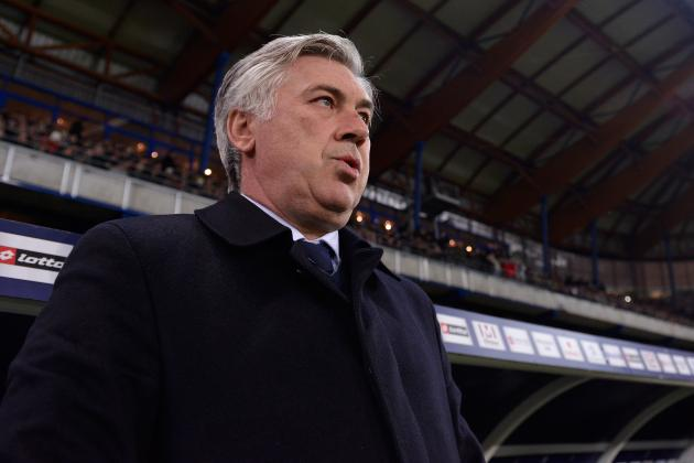 PSG Manager Carlo Ancelotti Reportedly Pegged as Real Madrid's Next Manager
