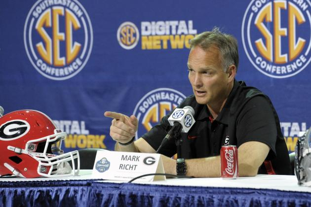 Can UGA Sit out an SEC Arms Race?