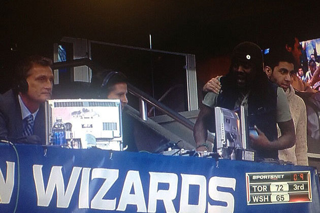 Wale's Feud with Matt Devlin Slightly More Famous Than Raptors vs. Wizards Game