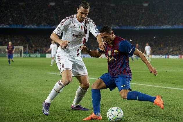 AC Milan vs. Barcelona Live Stream: Viewing Info for Champions League Clash