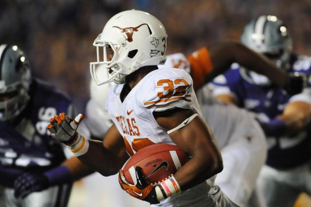 Texas Football Spring Practice: Everything You Need to Know About the RBs