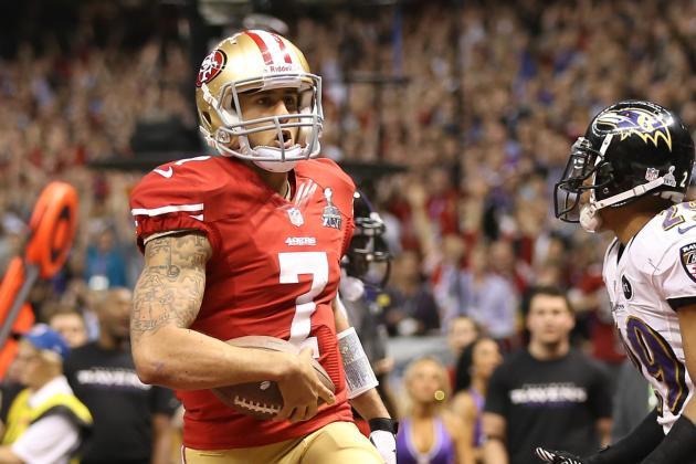Kaepernick Was Running at Historic Pace in 2012