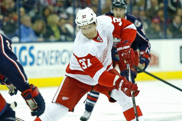 Red Wings' Mikael Samuelsson (finger) Out at Least Two Weeks