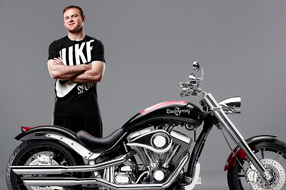 Rooney's Diamond-Encrusted Design Drives Motorbike's Price DOWN by £15k