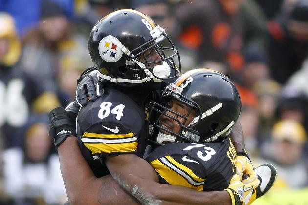Antonio Brown Says the Steelers' Locker Room Was Divided Last Year