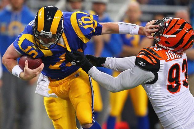Bengals' Michael Johnson Puts Pressure on Quarterbacks, Not Himself