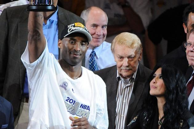 Kobe Bryant Credits Jerry Buss for Convincing Him to Stay with Lakers
