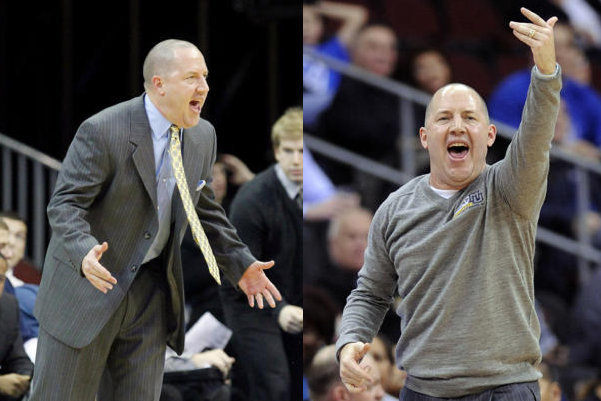 Buzz Williams Underwent a Wardrobe Change in Marquette's Win over Seton Hall