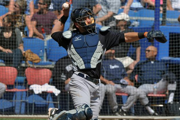 New York Yankees: Is Current Catching Situation Best Option for Bombers in 2013?