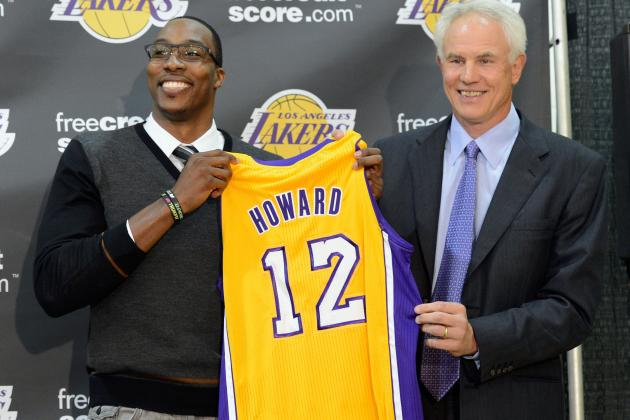 Lakers GM Kupchak Says Howard Is 'Our Future'