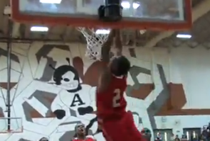 Video: Harrison Twins: Aaron Catches 2 Alley Oops from Andrew