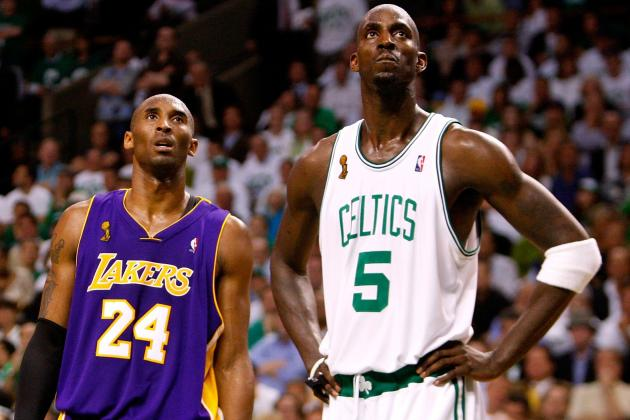 Photo Timeline of Storied LA Lakers-Boston Celtics Rivalry