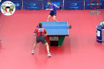 Behind-the-Back Ping Pong Shot Stuns Opponent