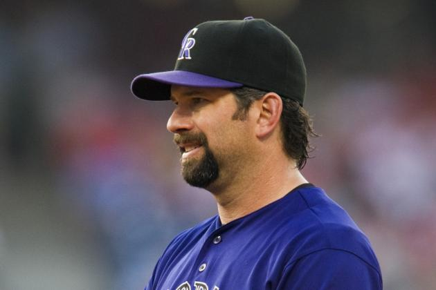 Todd Helton to Miss First Few Games of Rockies' Spring Training