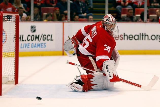 Red Wings Goalie Jimmy Howard Leaves with Blurry Vision