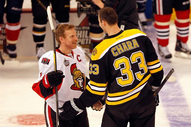 NHL Trade Speculation: Daniel Alfredsson Would Give Bruins Depth for Playoffs