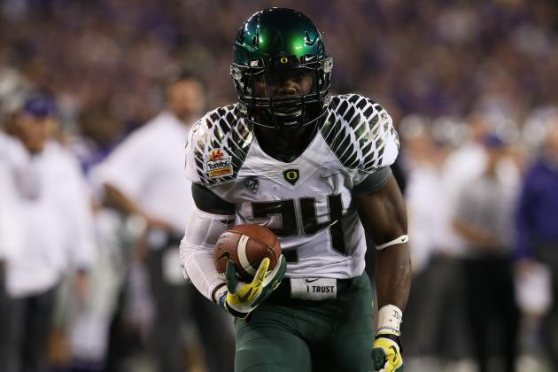 Oregon Ducks' Barner Makes Final 4 for EA Sports NCAA 14 Cover Vote